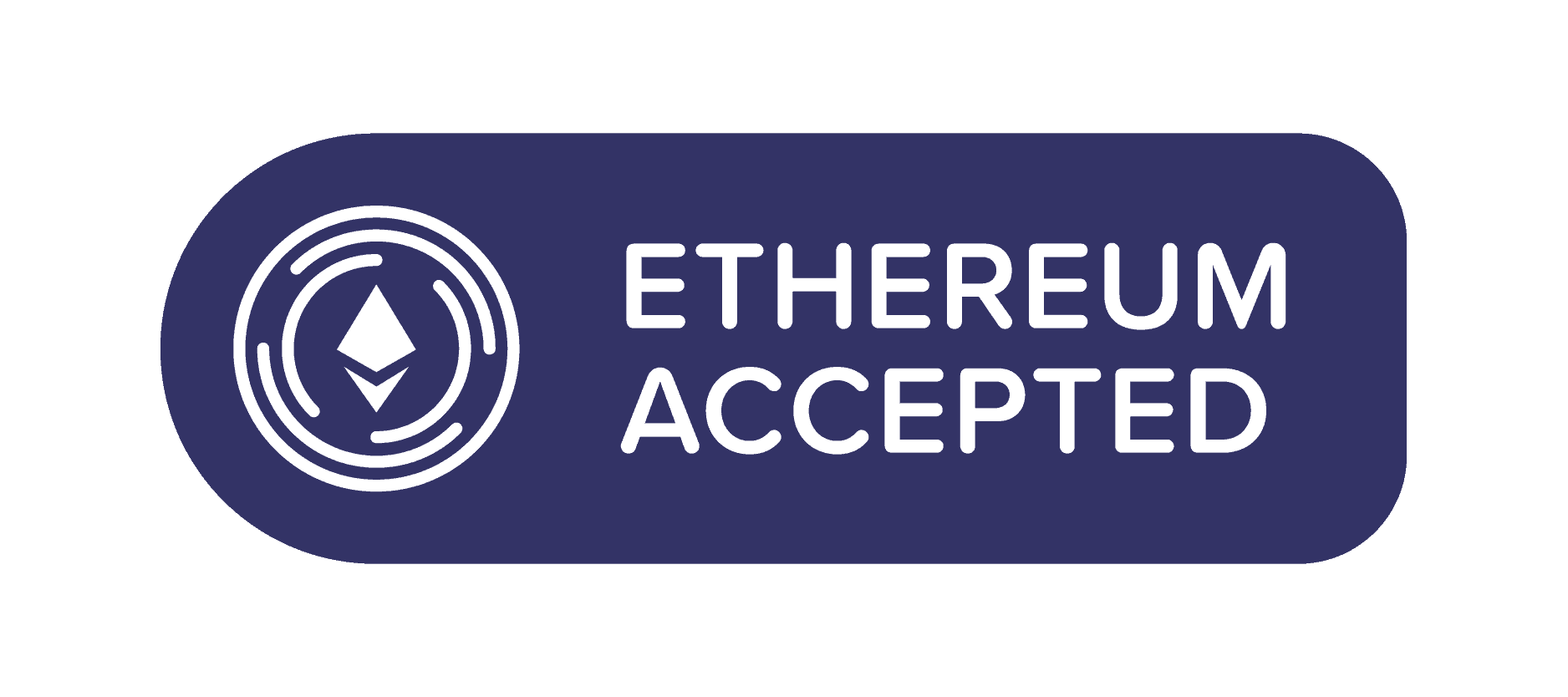 a button for ether accepted